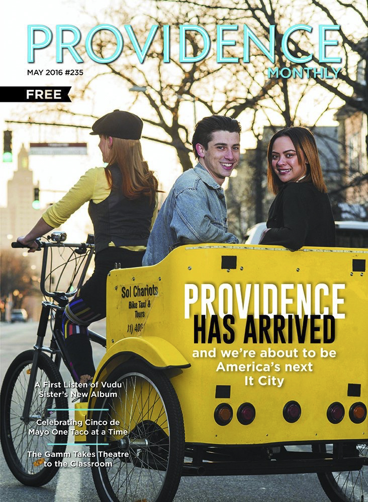 Providene Monthly article on how PVD is America's new It city.