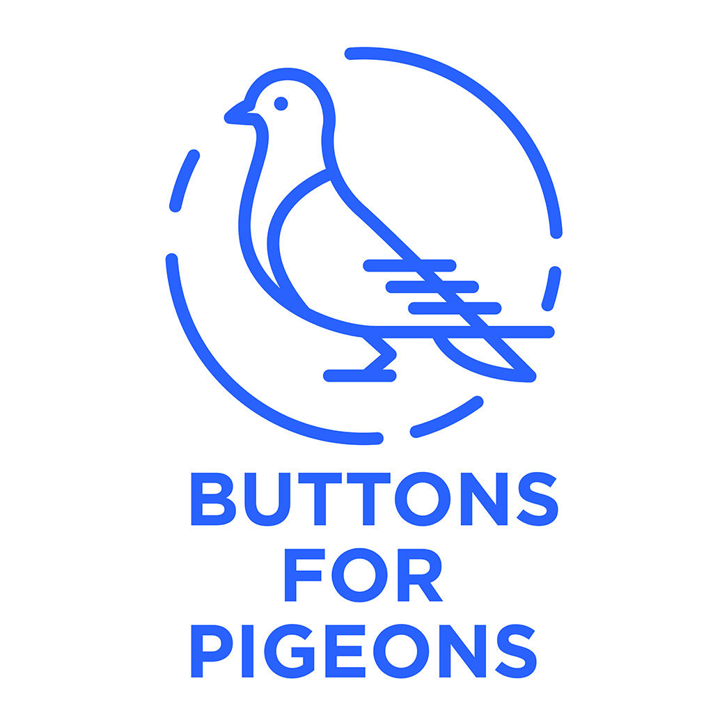 etsy thrift shop buttons for pigeons located in sacramento ca